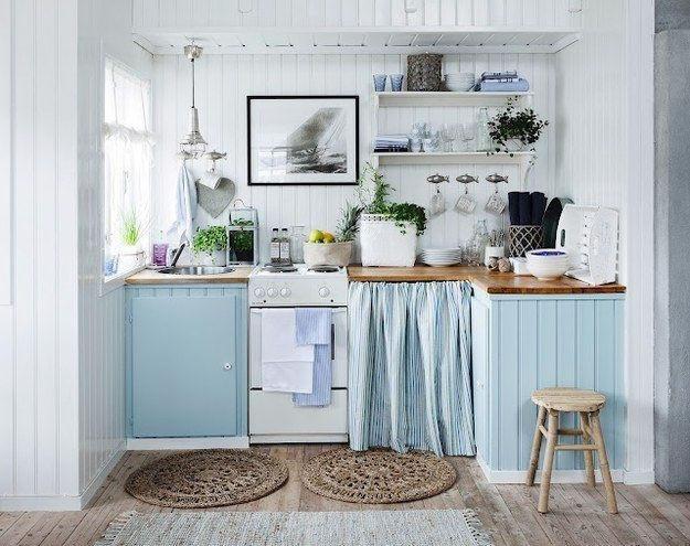 Cocinas peque as y funcionales uno propiedades blog for Arredo bagno marinaro