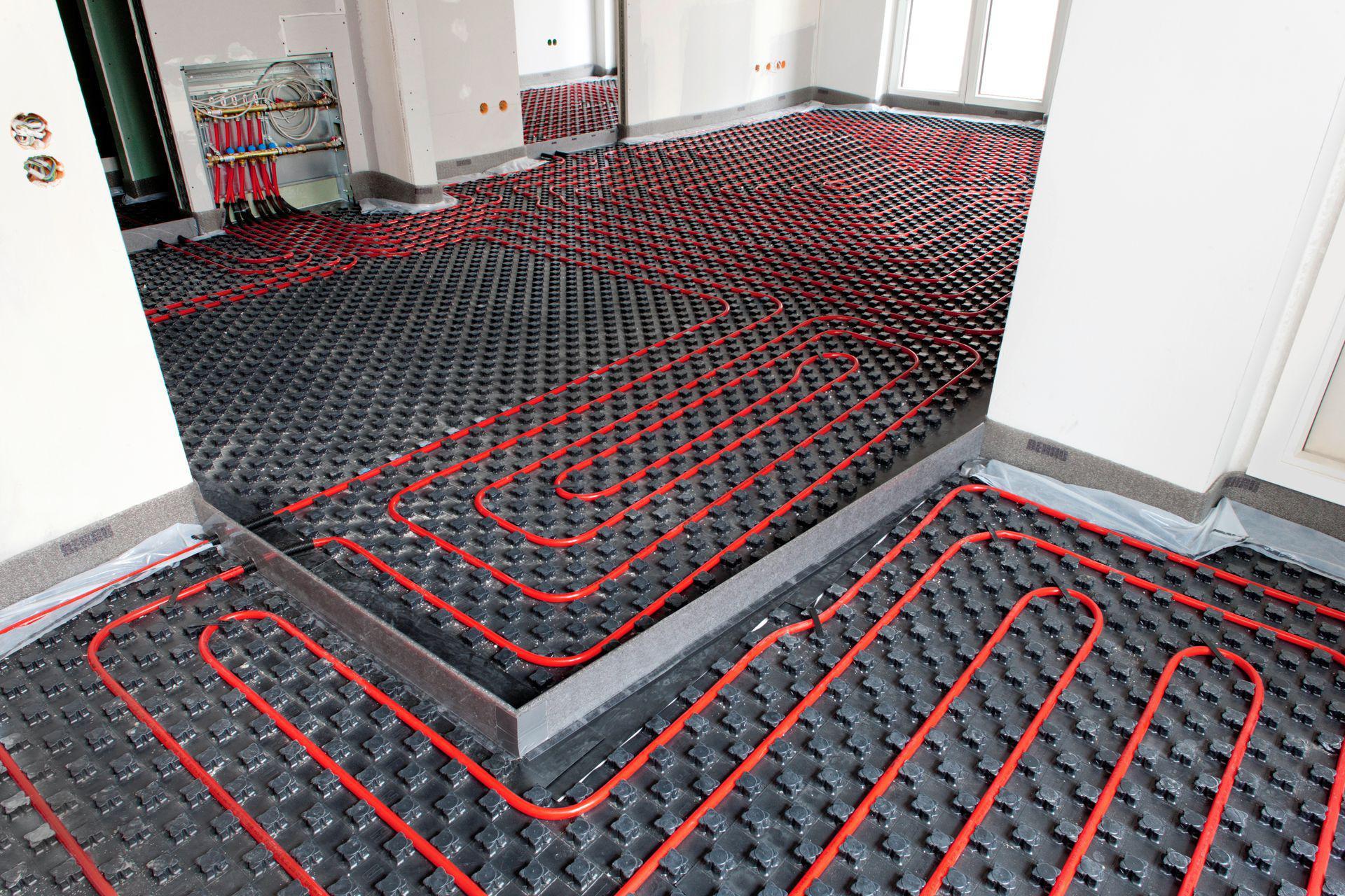 Calefacci n por piso radiante uno propiedades blog - Colocacion suelo radiante ...
