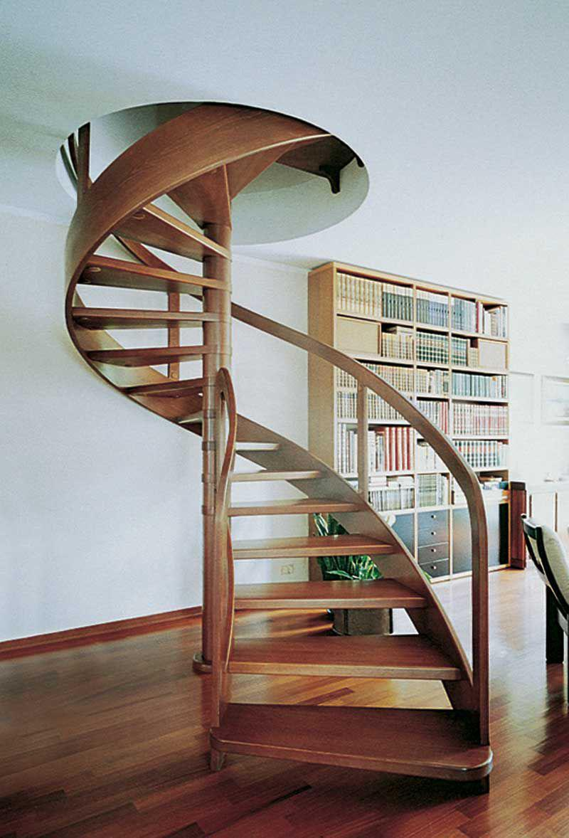 Escaleras de caracol interiores simple silla para for Silla escalera plegable planos