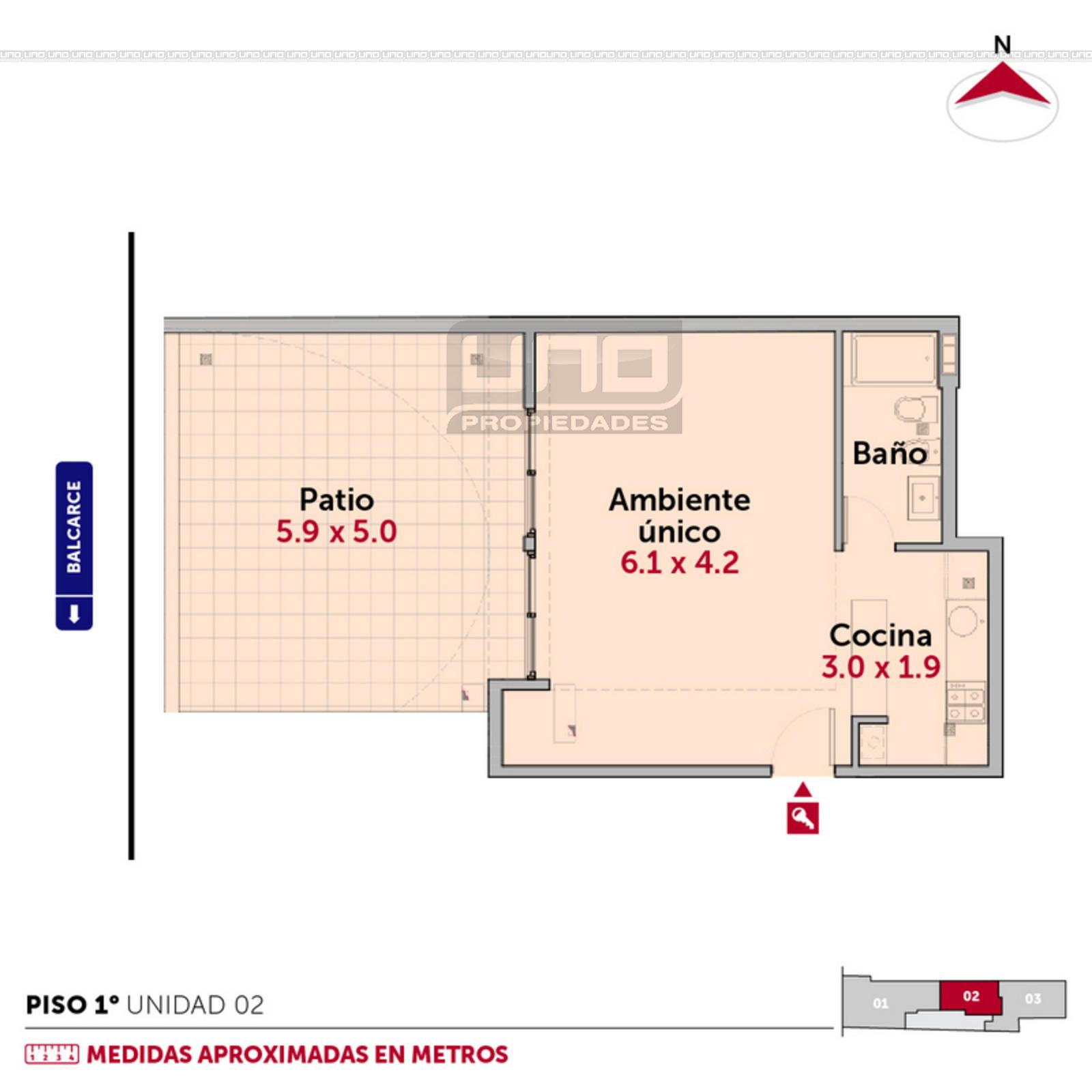 Venta oficina rosario balcarce y guemes c d 6440 uno for Croquis de oficinas administrativas